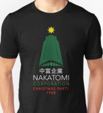 Nakatomi Corporation Christmas Party Tower T-Shirt