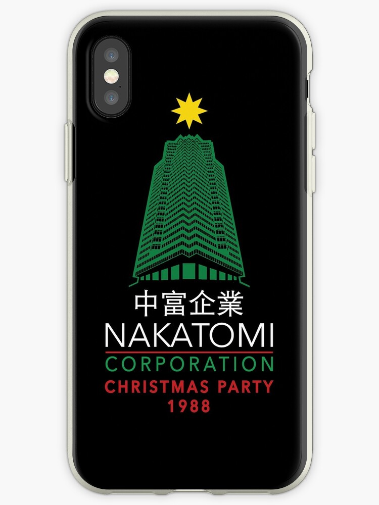 Nakatomi Corporation Christmas Party Tower by Candywrap Design