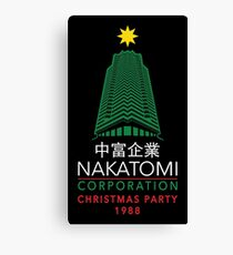 Nakatomi Corporation Christmas Party Tower Canvas Print