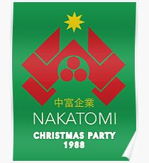 Nakatomi Corporation - Christmas Party Variant Poster