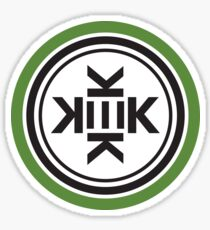 KEK Modern Pattern Kekistan Flag Logo  - Online Store HD HIGH QUALITY Sticker