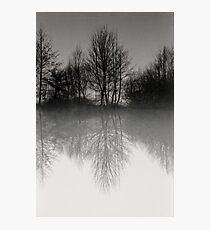 Reflections Scoulton Mere Photographic Print