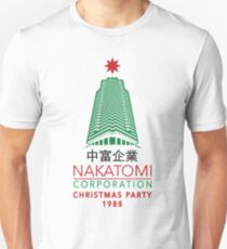 Nakatomi Corporation Christmas Party Tower Variant T-Shirt