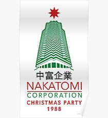 Nakatomi Corporation Christmas Party Tower Variant Poster