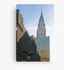 NYC-Crysler Building Canvas Print
