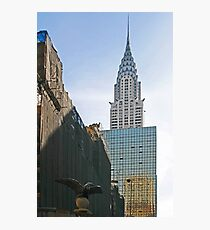 NYC-Crysler Building Photographic Print