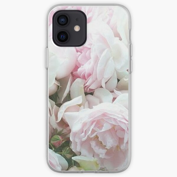 Pink and White Peonies  iPhone Soft Case