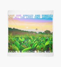 SAVE LIFE IN OUR JUNGLES AND FORESTS. Scarf