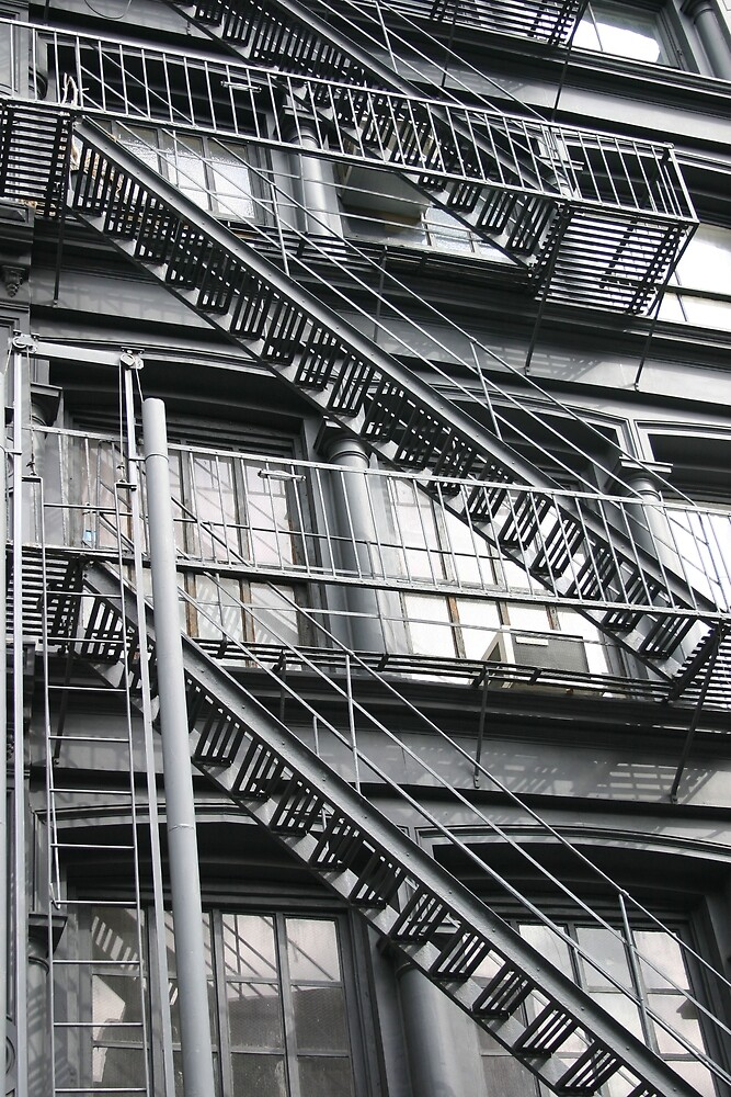 NYC-Stairs 0227#2 by Hell-Prints