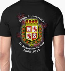 St. Augustine Florida, 450th Anniversary (Black Products Only) T-Shirt