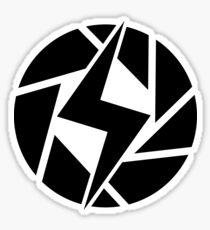 Snapshot Apperture Circle Sticker
