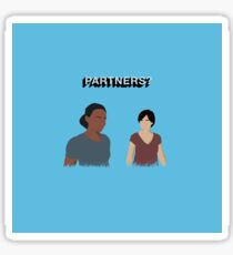 Uncharted The Lost Legacy: Nadine Ross and Chloe Frazer Sticker