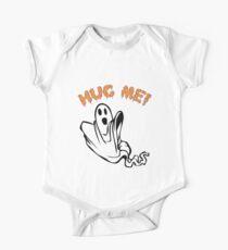 Hug Me! Funny Halloween Ghost Merch Kids Clothes