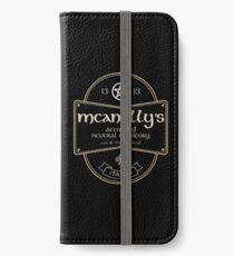 McAnally's Pub iPhone Flip-Case/Hülle/Klebefolie