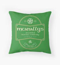 McAnally's Pub Throw Pillow