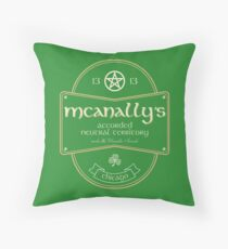 McAnally's Pub Throw Pillow