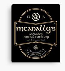McAnally's Pub Leinwanddruck