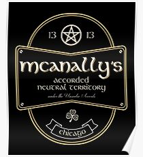 McAnally's Pub Poster