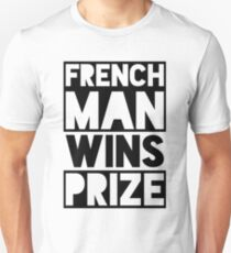 Frenchman wins prize T-Shirt
