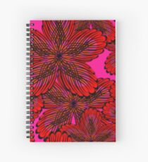 Flamenco Floral Spiral Notebook