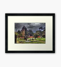 By The Warmth Of Your Grave Framed Print