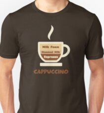 Cappuccino Cup // Coffee Art T-Shirt