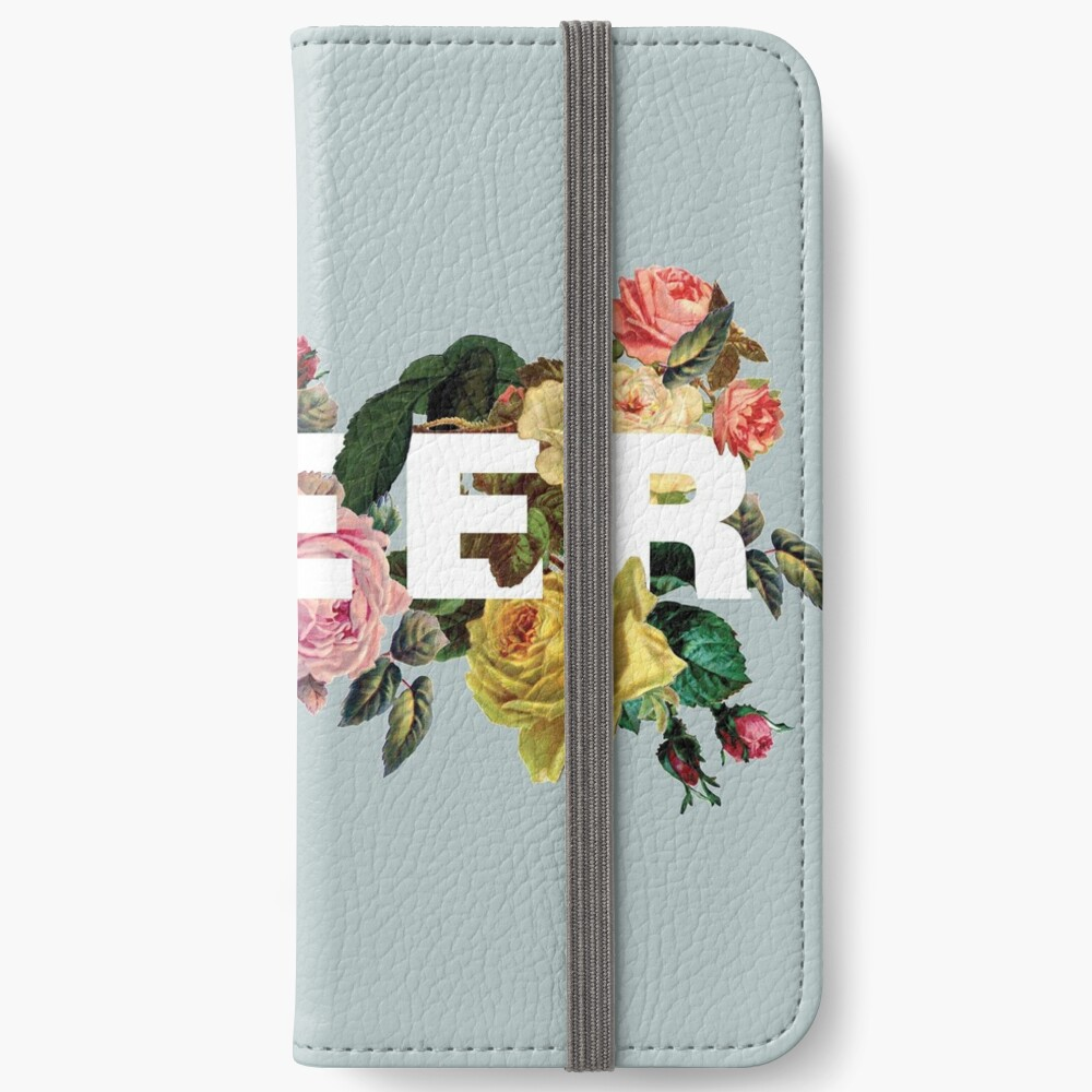 Queer (Antique Roses) iPhone Wallet