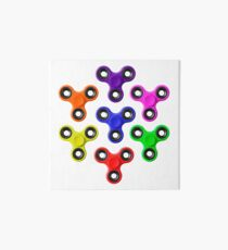 Finger Spinners Multi Coloured Art Board