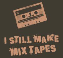 I Still Make Mix Tapes (Orange Print)
