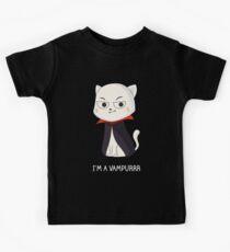 Vampurrr Cat Kids Clothes