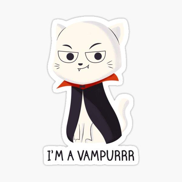 Vampurrr Cat Sticker