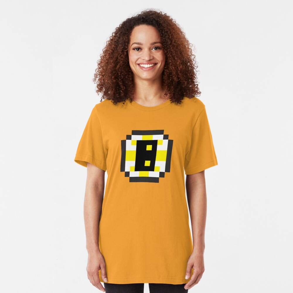 8-Bit Boston Slim Fit T-Shirt
