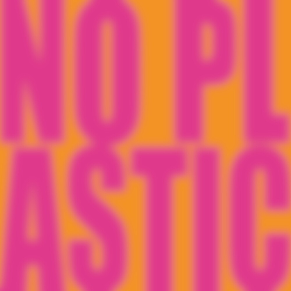 No Plastic #1 - Please by Hell-Prints