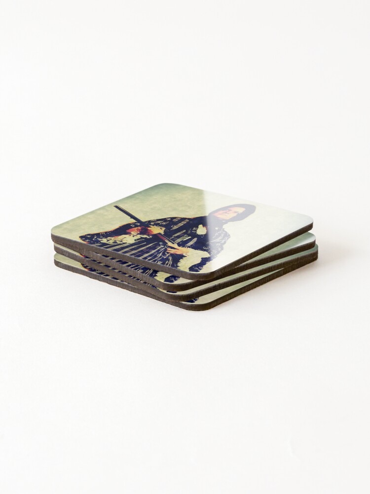Alternate view of The widow Coasters (Set of 4)