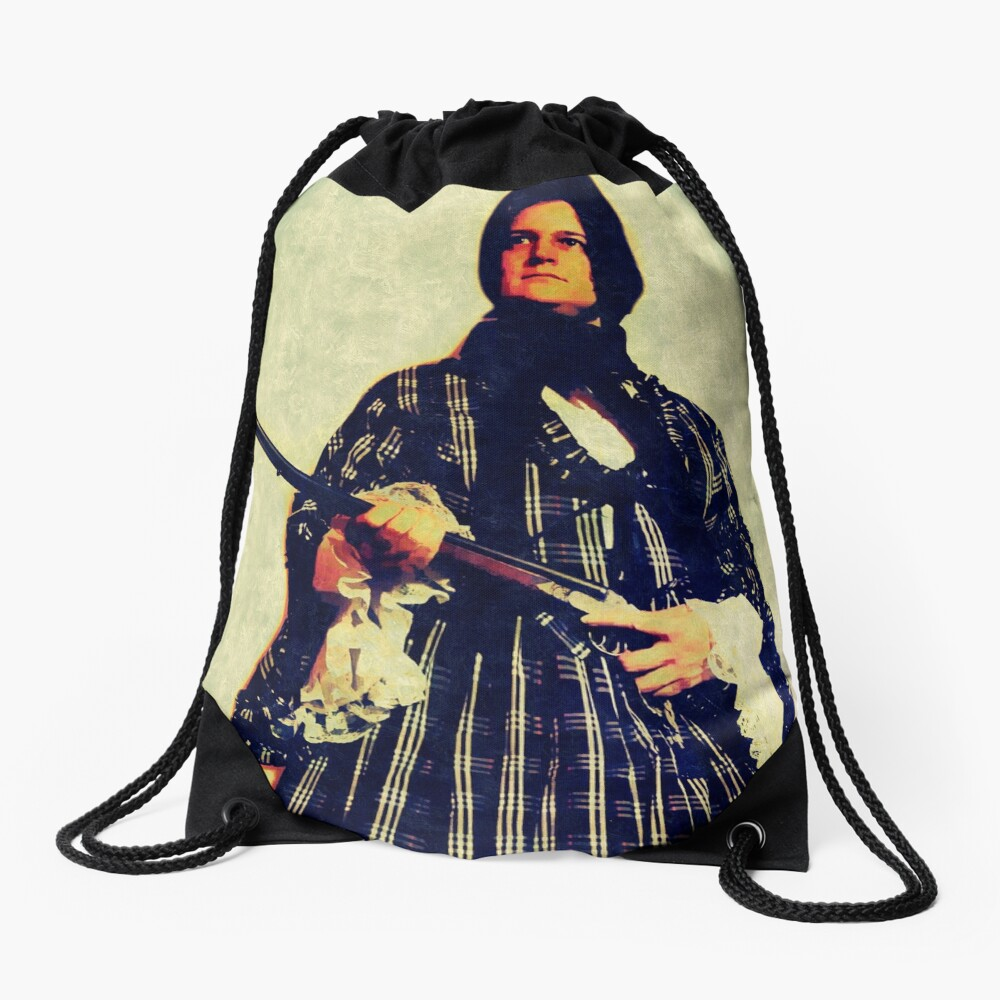 The widow Drawstring Bag