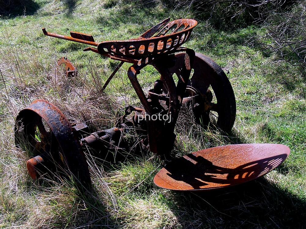 photoj Rusty Farm Equipment by photoj