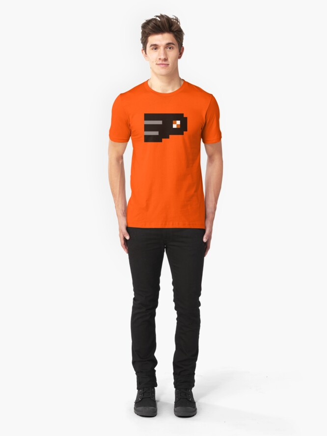 Alternate view of 8-Bit Philadelphia Slim Fit T-Shirt