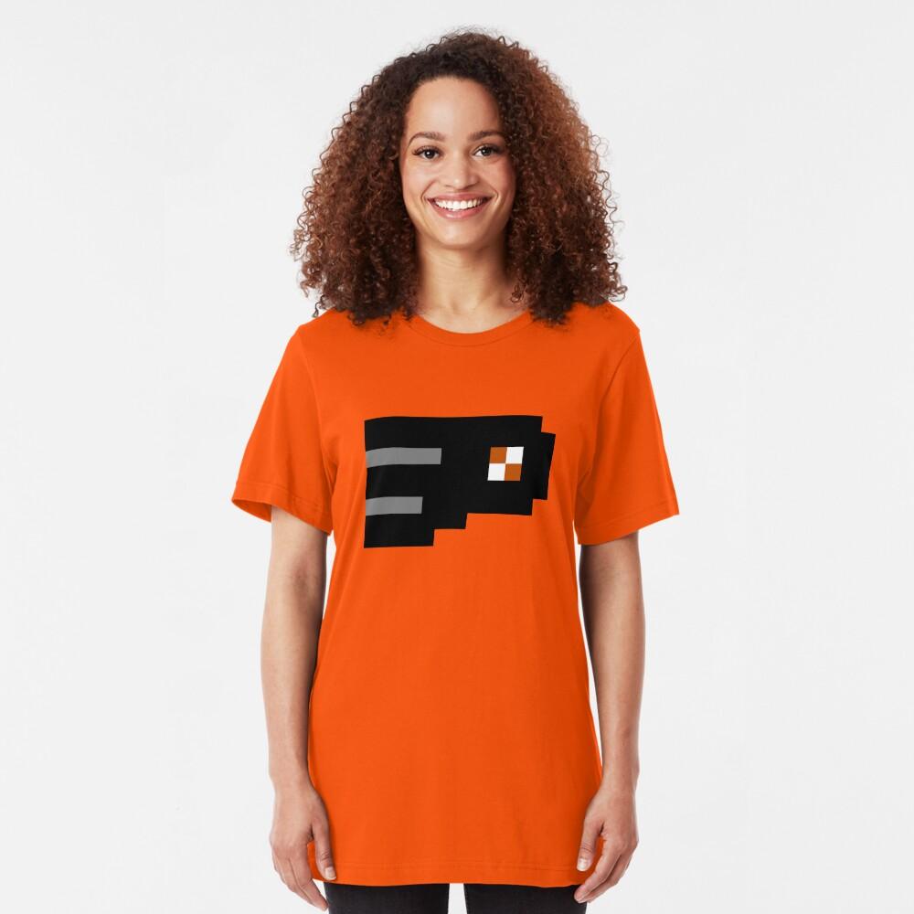 8-Bit Philadelphia Slim Fit T-Shirt