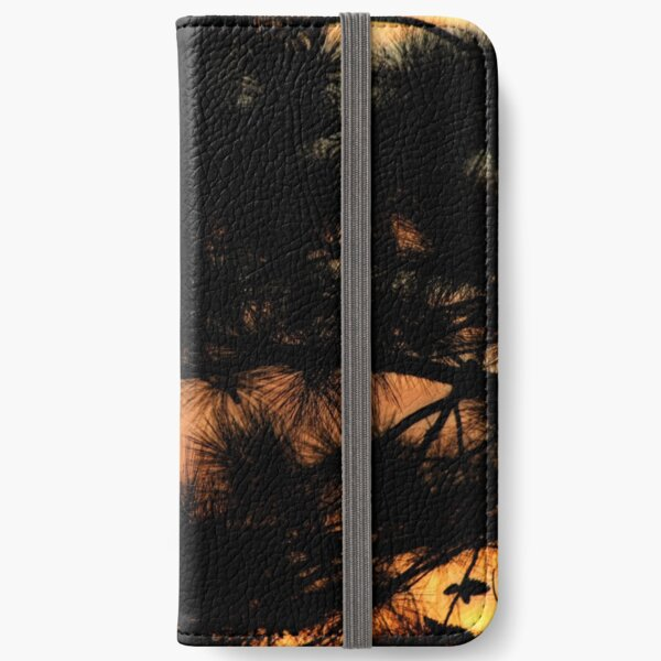 Sunrise through the loblolly iPhone Wallet