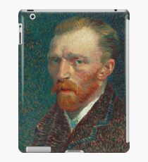 Vincent van Gogh - Self-Portrait, 1887 iPad Case/Skin