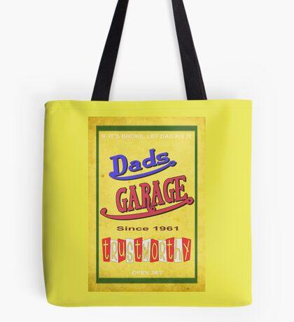 DADS GARAGE since 1961 Tote Bag
