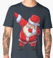 Santa Claus Dabbing T Shirt Christmas Funny Dab Dance Gifts Men's Premium T-Shirt