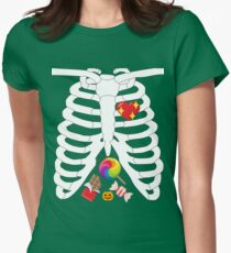 CANDY RIB CAGE X-RAY Halloween T-Shirt and More T-Shirt