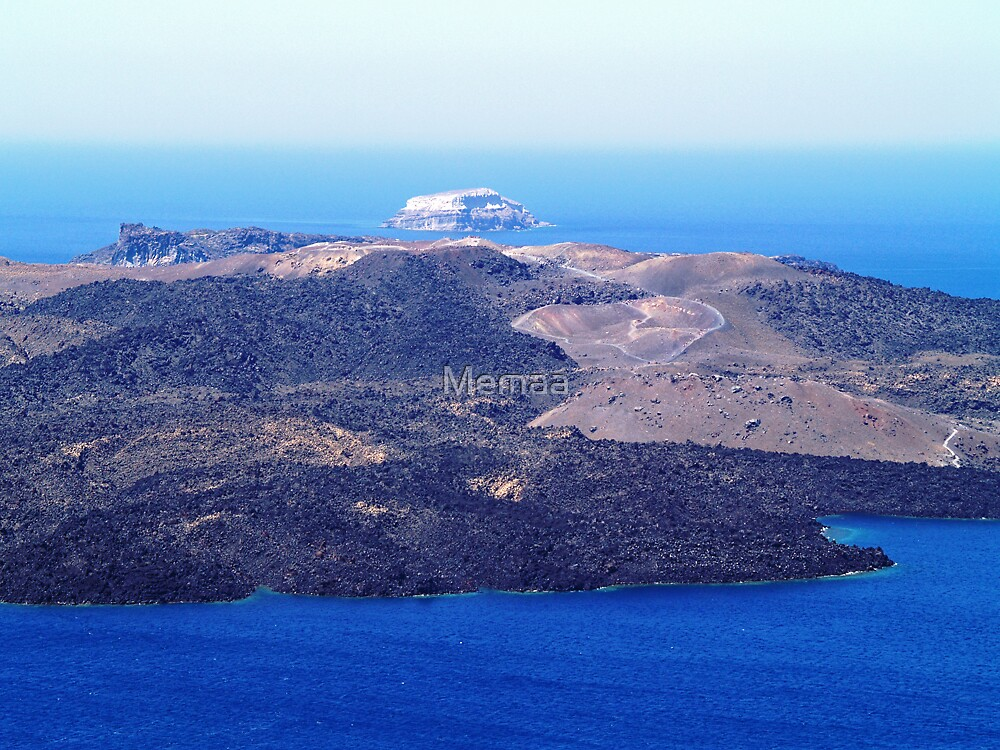 View from Santorini by Memaa