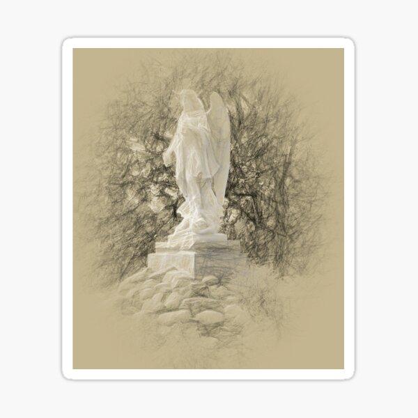 Angelic Stance Sticker