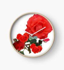 Stornoway Roses Clock