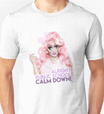 """Alright, Public School, Calm Down!"" Trixie Mattel, RuPaul's Drag Race T-Shirt"