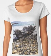 Stone beach Women's Premium T-Shirt