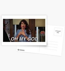 Janice Oh My God Friends Postcards