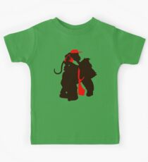 DK and Diddy (large print) Kids Tee